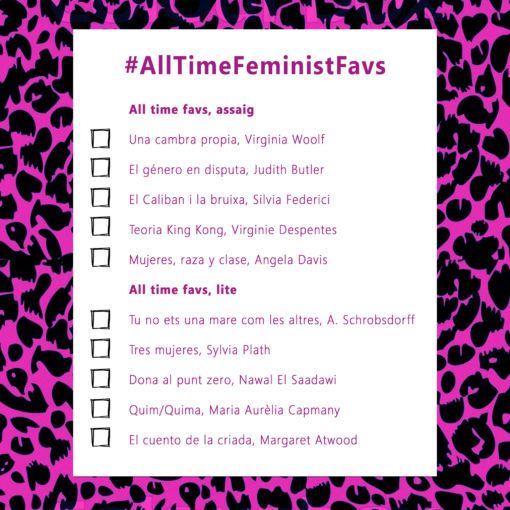 all time favs La Carbonera llibreria feminista